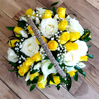 Fresh Yellow and White Basket