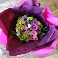 Mixed Pink Roses Bouquet